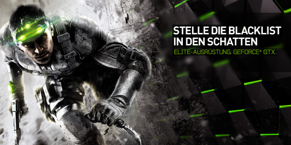 NVIDIA Splinter Cell Blacklist