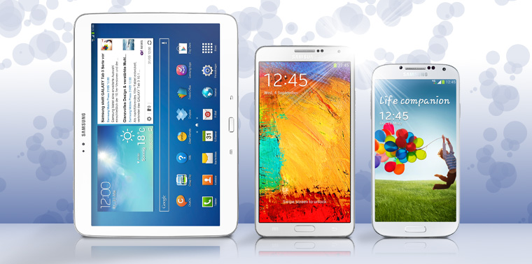 Tablets - Phablets - Smartphones