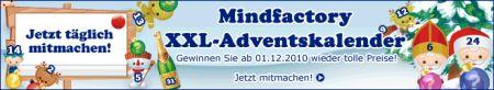 Mindfactory XXL-Adventskalender 2010