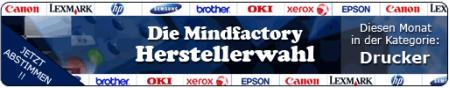 Herstellerwahl Drucker