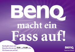 BenQ macht ein Fass auf!