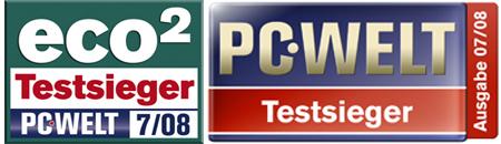 Canon Pixma iP4500 eco2 Testsieger PC Welt Testsiger