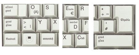 Fränkische Tastatur