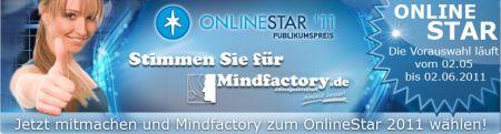 Stimmen Sie für Mindfactory beim Onlinestar