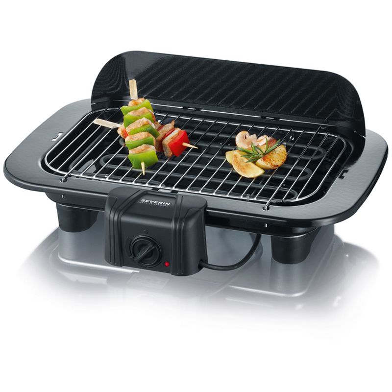 Severin elektrogrill barbecue pg 8526 hardware notebooks for Barbecue d interieur