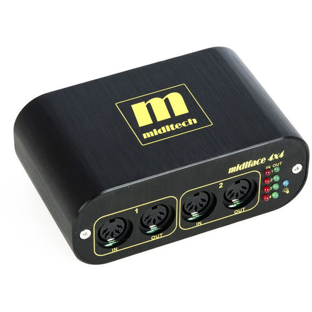 miditech midi interface midiface 4x4 hardware notebooks. Black Bedroom Furniture Sets. Home Design Ideas