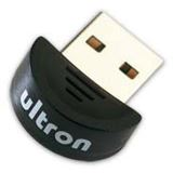 Ultron Bluetooth Adapter UBA-105 Micro Dongle V2.1 Class 2 USB 2.0 Schwarz