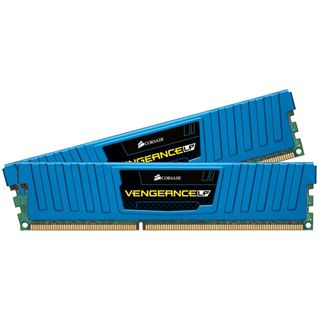 16GB Corsair Vengeance LP Blue DDR3-1600 DIMM CL10 Dual Kit