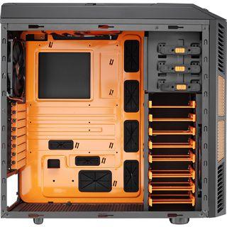 AeroCool XPredator X3 Evil Black Edition mit Sichtfenster Midi Tower ohne Netzteil schwarz/orange
