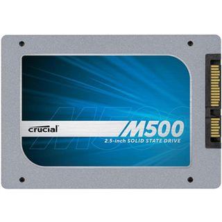 """240GB Crucial M500 2.5"""" (6.4cm) SATA 6Gb/s MLC asynchron (CT240M500SSD1)"""