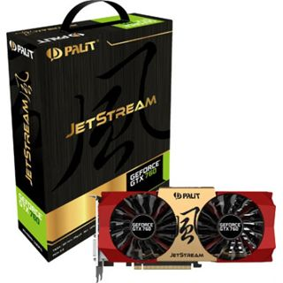 2048MB Palit GeForce GTX 760 JetStream Aktiv PCIe 3.0 x16 (Retail)