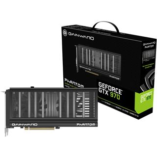 4096MB Gainward GeForce GTX 970 Phantom Aktiv PCIe 3.0 x16 (Retail)