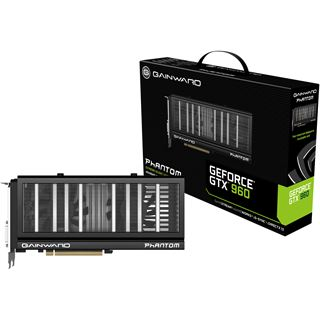 2048MB Gainward GeForce GTX 960 Phantom Aktiv PCIe 3.0 x16 (Retail)