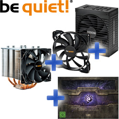 be quiet! Bundle: Power Zone + Shadow Rock 2 + Pure Wings + Starcraft II Collectors Edition