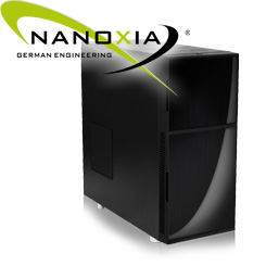 Nanoxia Deep Silence 1 Dark Black - Klassisches Design made in Germany