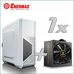 Enermax �Head of the Game�-Bundle - Revolution X�t 530W Netzteil + iVektor Geh�use