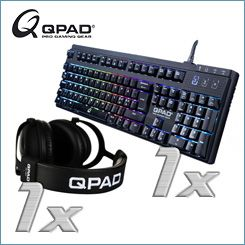 QPAD - professionelles Gaming-Equipment