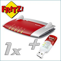 AVM FRITZ!Box 7430 & FRITZ!WLAN Stick AC 430
