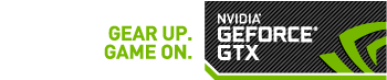 Gear up game on - nvidia Geforce GTX