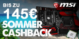 Intel / MSI Cashback