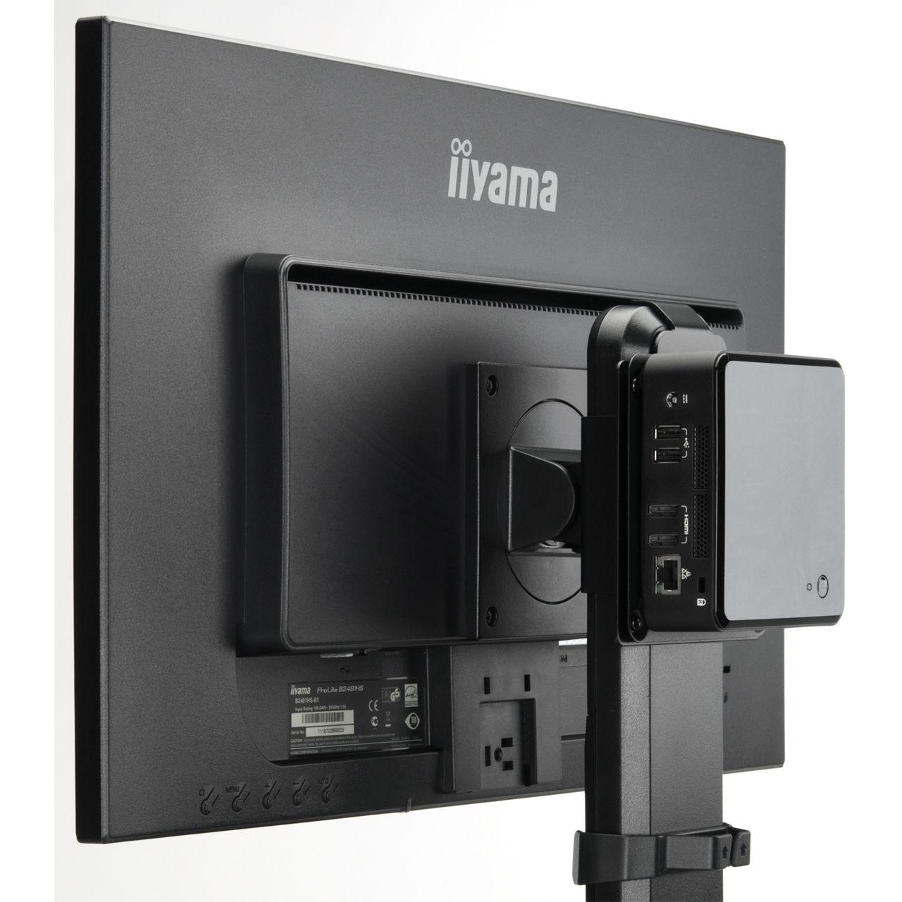 iiyama halterung f r mini pc md brpcv01. Black Bedroom Furniture Sets. Home Design Ideas