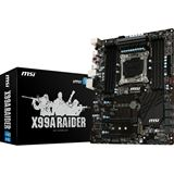 MSI X99A Raider Intel X99 So.2011-3 Quad Channel DDR4 ATX Retail