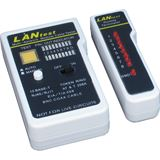 Inter-Tech IPC LANtest Kabeltester, RJ45, RJ11, Koaxial