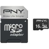 16 GB PNY Turbo Performance microSDHC Class 10 U3 Retail inkl. Adapter auf SD