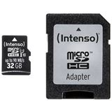 32 GB Intenso Professional Performance microSDHC Class 10 U1 Retail