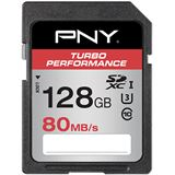 128 GB PNY Turbo Performance SDHC Class 10 U3 Retail