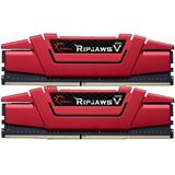 16GB G.Skill RipJaws V rot DDR4-2666 DIMM CL15 Dual Kit