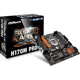 ASRock H170M Pro4 Intel H170 So.1151 Dual Channel DDR4 mATX Retail