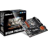 ASRock B150M Pro4S/D3 Intel B150 So.1151 Dual Channel DDR3 mATX Retail