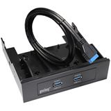 Good Connections Frontpanel USB 3.0 2x Buchse 20 PIN Stecker