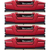 16GB G.Skill RipJaws V rot DDR4-2800 DIMM CL15 Quad Kit