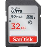 32 GB SanDisk Ultra 30MB/s SDHC Class 10 Retail