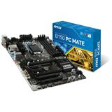 MSI B150 PC-Mate Intel B150 So.1151 Dual Channel DDR4 ATX Retail