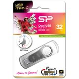 32 GB Silicon Power Mobile C80 silber USB 3.0