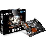ASRock H110M-ITX Intel H110 So.1151 Dual Channel DDR4 Mini-ITX Retail