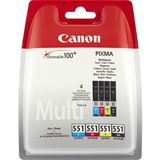 Canon CLI-551 C/M/Y/BK Photo Value Multi-Pack