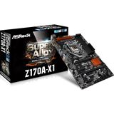 ASRock Z170A-X1 Intel Z170 So.1151 Dual Channel DDR ATX Retail