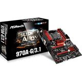 ASRock 970A-G/3.1 AMD 970 So.AM3+ Dual Channel DDR3 ATX Retail
