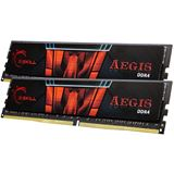 8GB G.Skill Aegis DDR4-2400 DIMM CL15 Dual Kit