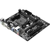 ASRock FM2A88M-HD+ R3.0 AMD A88X So.FM2+ Dual Channel DDR3 mATX Retail