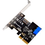 Silverstone ECU04 1 Port PCIe retail
