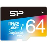 64 GB Silicon Power UHS-1U3 microSD Class 10 Retail