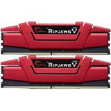 16GB G.Skill RipJaws V rot DDR4-3200 DIMM CL14 Dual Kit