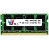 4GB V7 V73V4GNZBII DDR3-1333 SO-DIMM CL9 Single