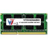 4GB V7 V73V4GNABKI DDR3-1600 SO-DIMM CL11 Single