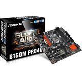 ASRock B150M Pro4V Intel B150 So.1151 Dual Channel DDR mATX Retail